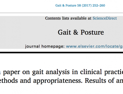 Guidelines for clinical Gait Analysis. The SIAMOC Position Paper